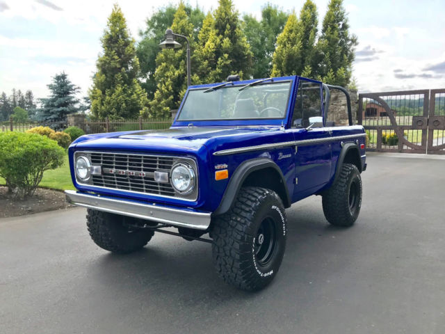 1971 Ford Bronco Show Quality Bronco - Very Straight!