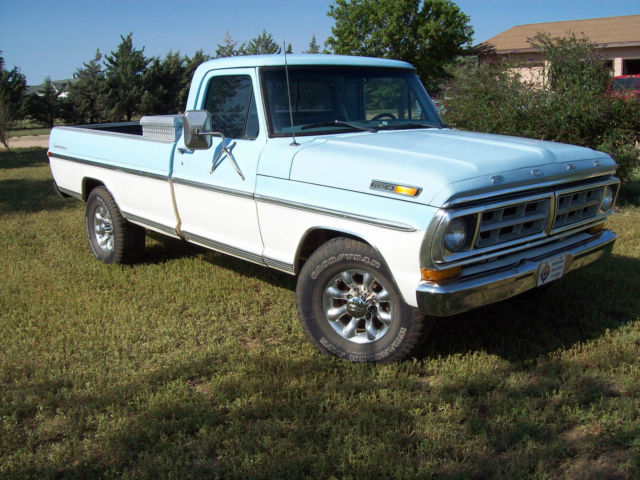 1971 Ford F-250 Deluxe