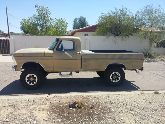 1971 ford highboy 4x4 f250 cummins 12v for sale photos technical specifications description