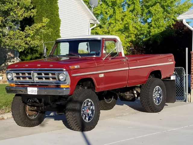 1971 ford highboy 4x4, no rust! monster truck, like 1967, 1968, 1969