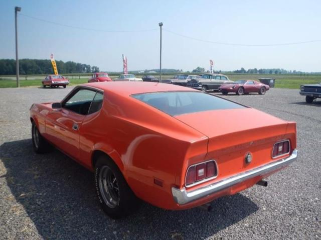 1971 DARK O Ford Mustang -- with VERMIL interior