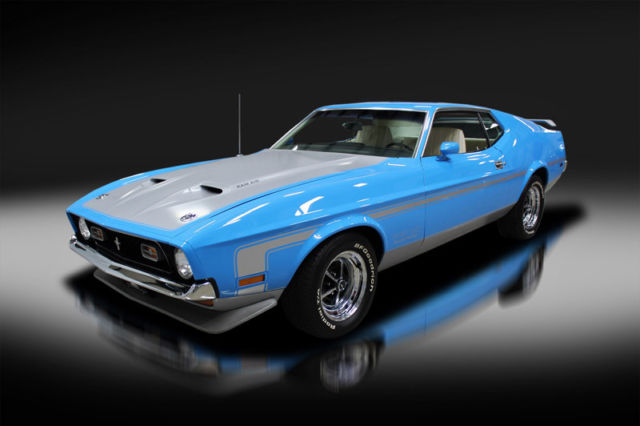 1971 Ford Mustang Boss 351. One of the first built. Documented. WOW!