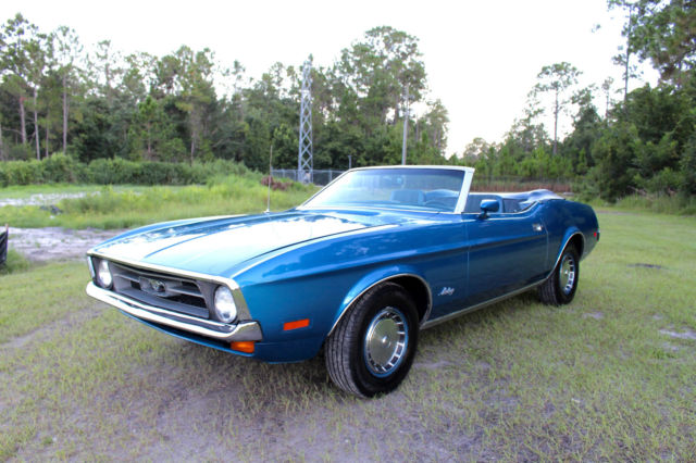 1971 Ford Mustang Convertible (Video Inside) 77+ Pics FREE SHIPPING