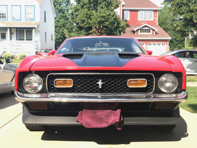 1971 Ford Mustang Mach I Fastback 2-Door
