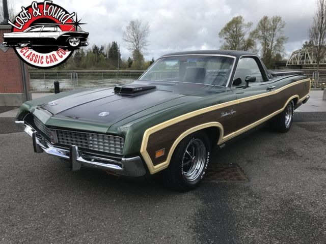 1971 Ford Ranchero Squire Ram Air