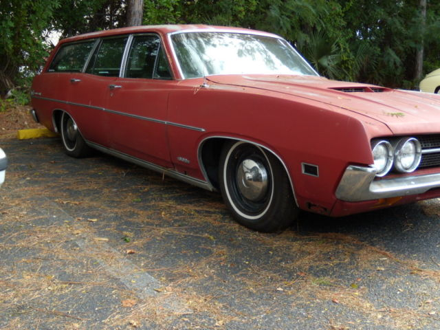 1971 ford torino station wagongreat patinalowerednew interiorv8new wheels