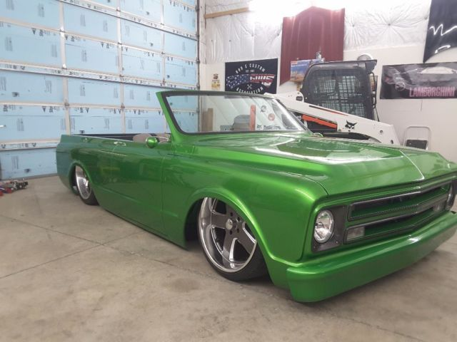 1971 full custom air bagged body dropped 2wd blazer ls1 swapped accuair chopped