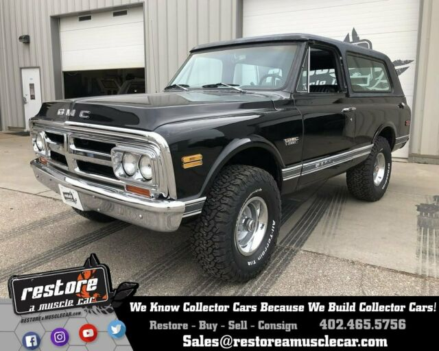 1971 GMC Jimmy K5 Blazer 4x4, 350ci, Auto, 1 Family Owned, Black