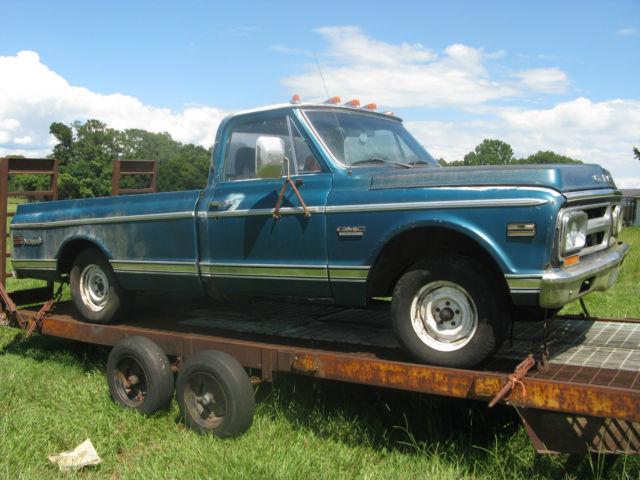 1971 GMC Sierra Grande 1500 pickup truck for sale: photos