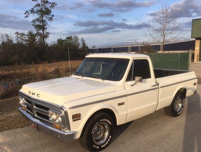 1971 gmc sierra grande short bed big block truck for sale