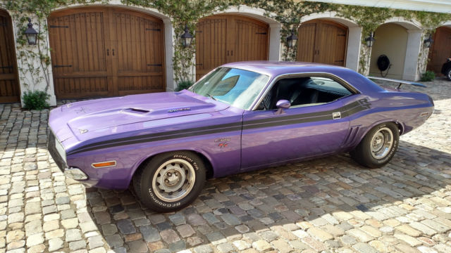 1971 Dodge Challenger 426 Hemi Tribute Fact. A/C