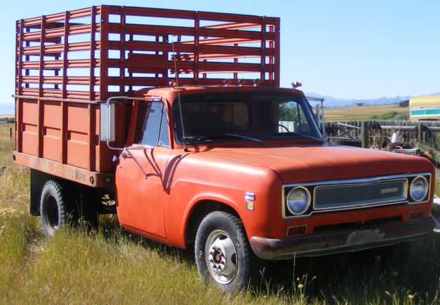 1971 International Harvester 1310 Stock Truck Dually