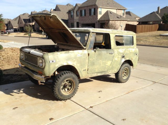 1971 International Harvester Scout COMANCHE 800B