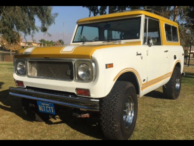 1971 International Harvester Scout Scout