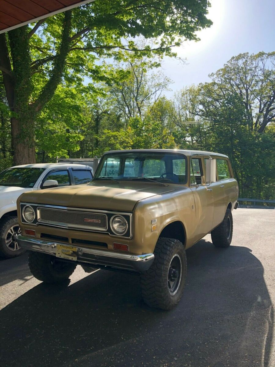 1971 International Harvester Travelall