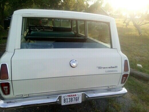 1971 white International Harvester Other cool Wagon with green interior