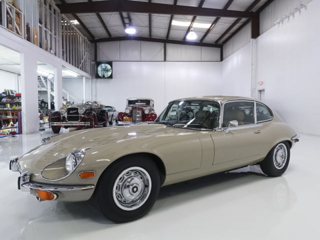1971 Jaguar E-Type Series III 2+2 Coupe, ONLY 33,378 ACTUAL MILES!