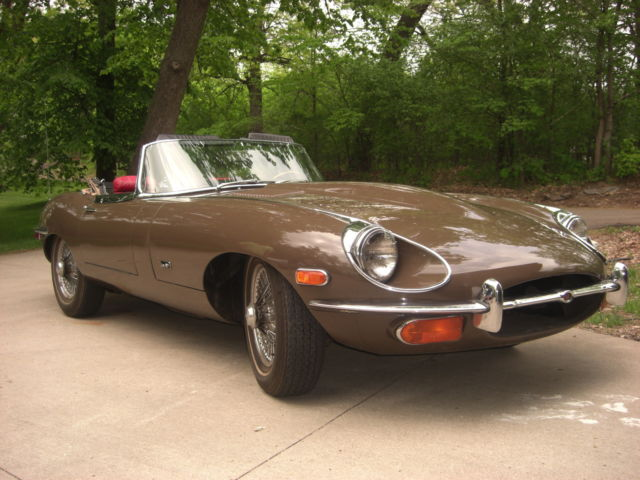 1971 Jaguar E-Type XKE roadster