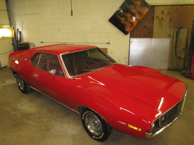 1971 Javelin Amx 401 Z Code 4 Speed Go Package 51 893 Mi Matching Rare For Sale Photos