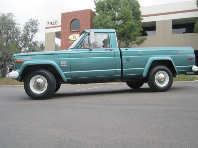 1971 jeep j20 pick up truck for sale photos technical specifications