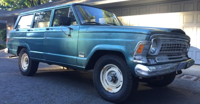 1971 JEEP WAGONEER 4X4 AMC 360 V8 WITH RARE T18 4SP MANUAL