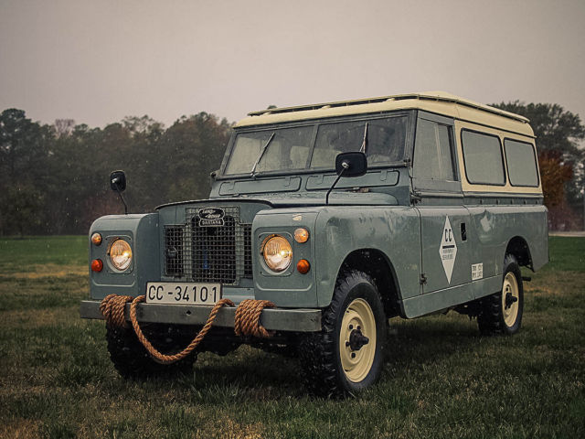 1971 land rover 109 series iia santana for sale photos technical specifications description. Black Bedroom Furniture Sets. Home Design Ideas