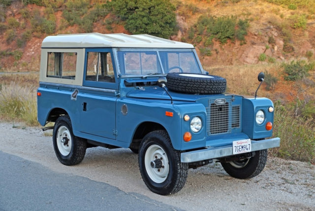 1971 Land Rover Other Series IIA 88