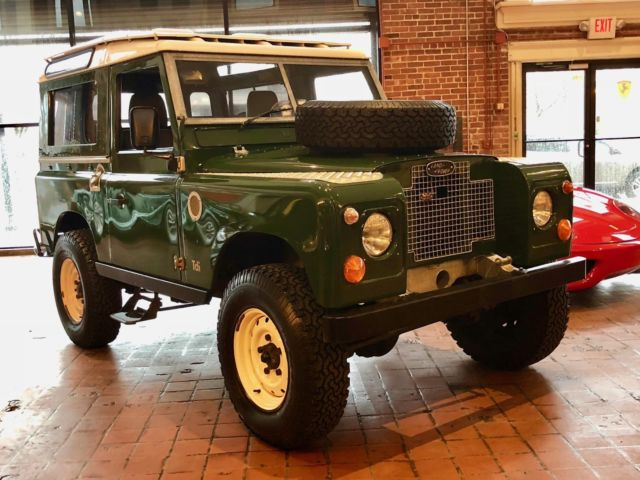 1971 Land Rover SERIES IIa --