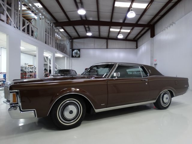 1971 Lincoln Continental ONE OWNER FROM NEW! ONLY 14,713 ACTUAL MILES!