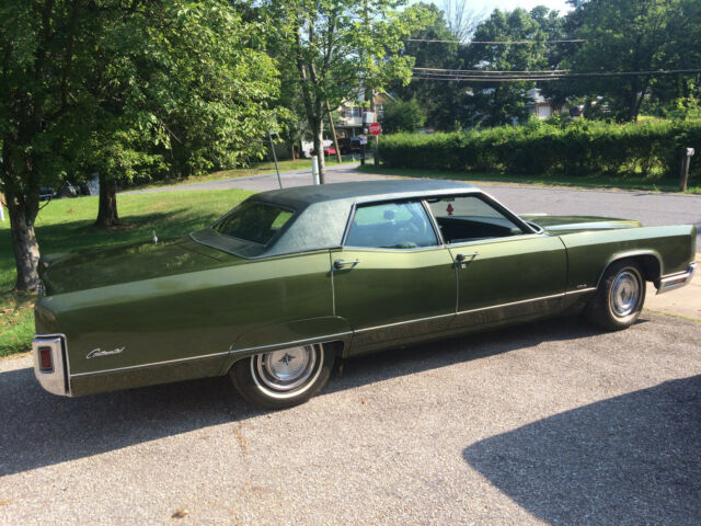 1971 Lincoln Continental Town Car Golden Anniversary