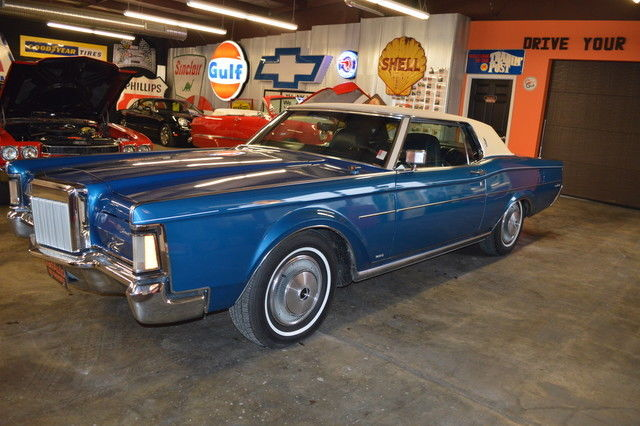 1971 Lincoln Mark Series Coupe Leather Luxury 460 V8 Automatic