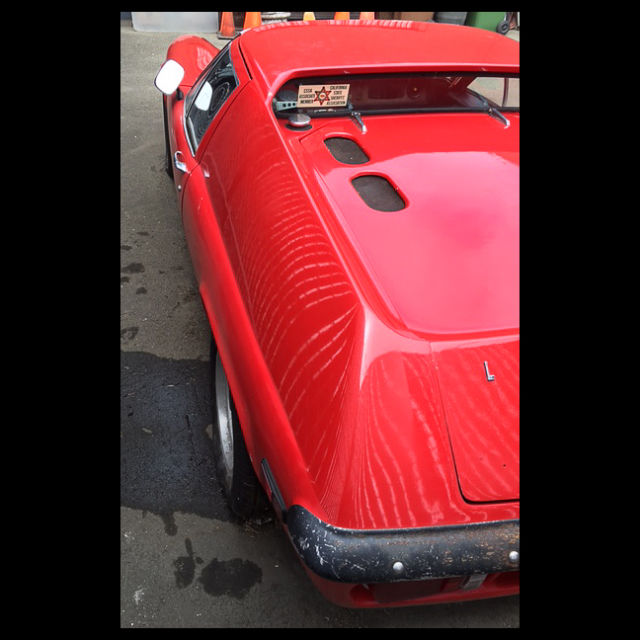 1971 Red Lotus Europa Series 2 Coupe with Black interior