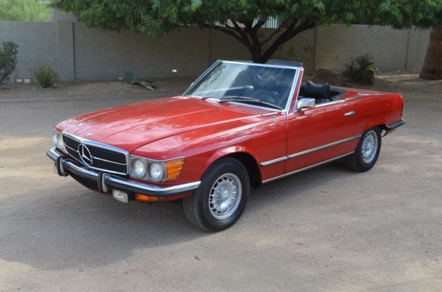 1972 Mercedes-Benz SL-Class Roadster, A/C, Europa AM/FM