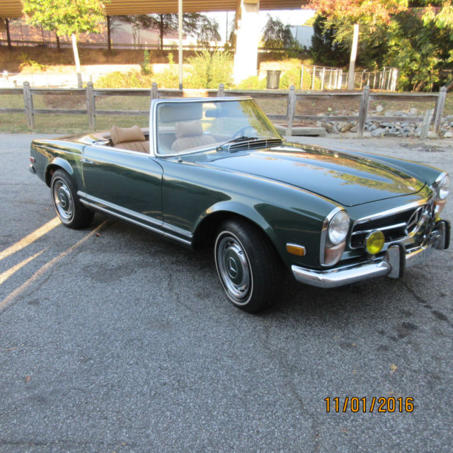 1971 Mercedes-Benz SL-Class 2 door roadster