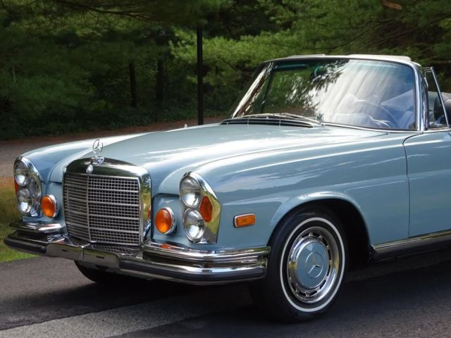 1971 mercedes benz 280se 3 5 cabriolet for sale photos. Black Bedroom Furniture Sets. Home Design Ideas