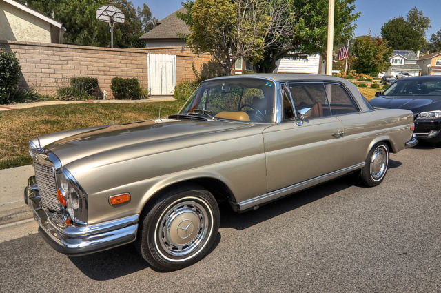 1971 mercedes benz 280se 3 5 coupe for sale photos. Black Bedroom Furniture Sets. Home Design Ideas