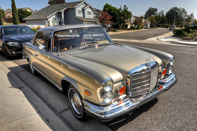 1971 mercedes benz 280se 3 5 coupe for sale photos for Walters mercedes benz riverside ca