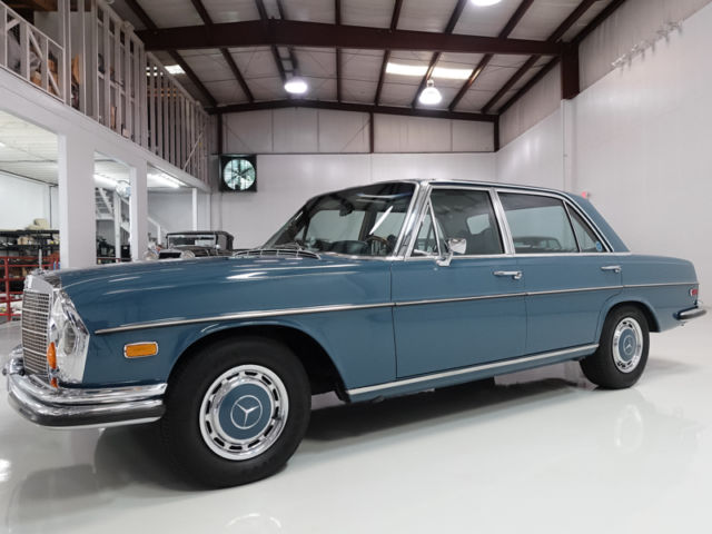 1971 Mercedes-Benz 300-Series 6.3 Sedan, only 43,871 actual miles!