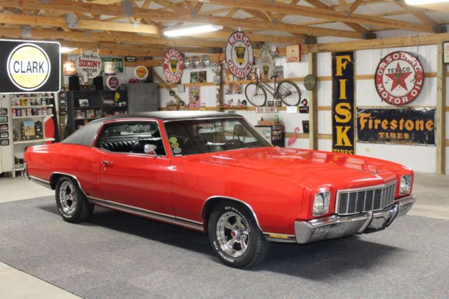 1971 Chevrolet Monte Carlo Numbers Matching & Restored - 198 Pics 3 Videos