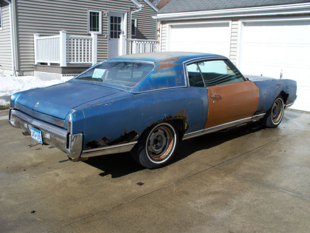 1971 Monte Carlo Ss 454 For Sale Photos Technical Specifications Description