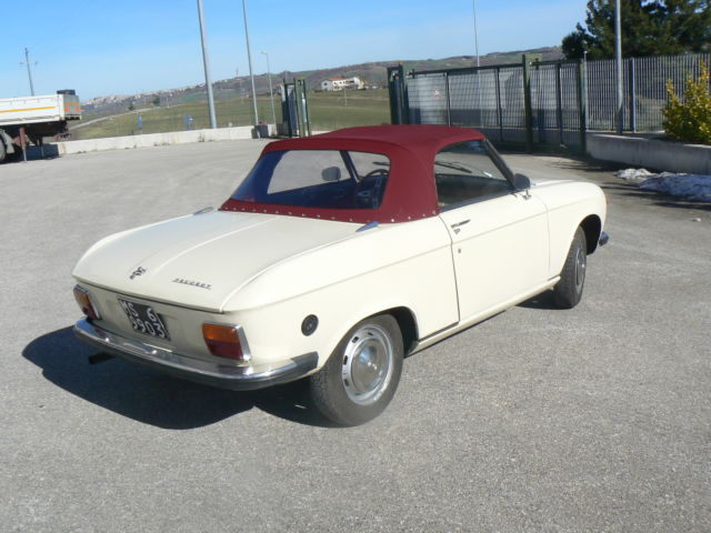 1971 peugeot 304 cabriolet pininfarina rare for sale photos technical specifications. Black Bedroom Furniture Sets. Home Design Ideas