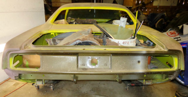 1971 Plymouth Barracuda 383 Big Block Rotisserie Project Muscle Car