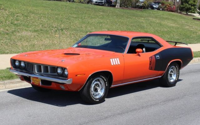 1971 Plymouth Barracuda --