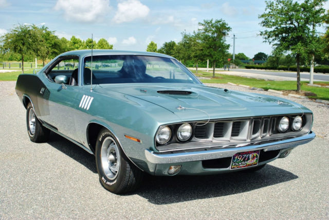1971 Plymouth Barracuda Cuda 383 V8 Numbers Matching! Frame Off Restored!