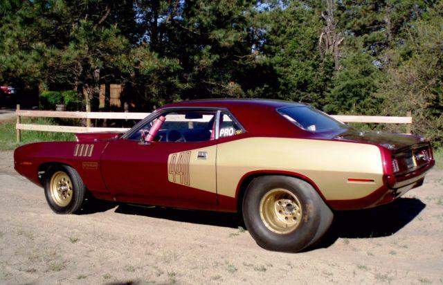 1971 Plymouth Cuda Pro Street Drag