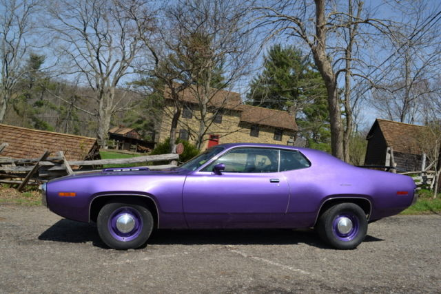 road runner 1971 muscle - photo #32
