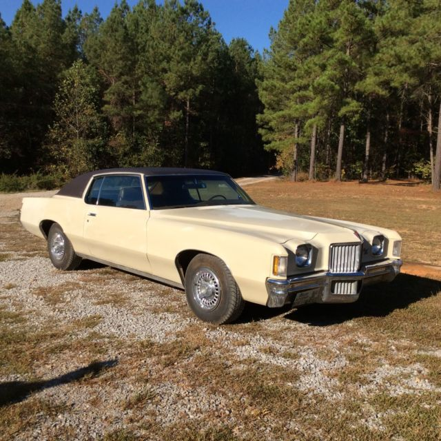 1971 Pontiac Grand Prix Model J
