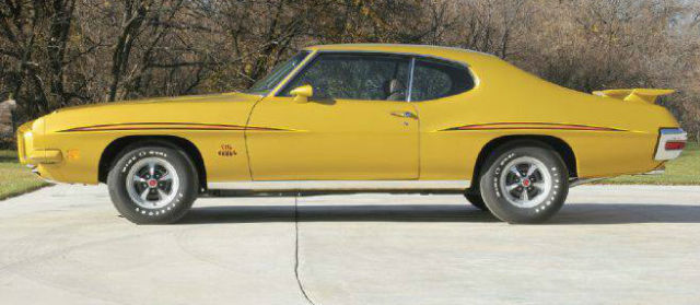 1971 PONTIAC GTO JUDGE REAL JUDGE NOT A CLONE  TRIBUTE for
