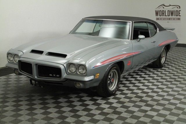 1971 Pontiac GTO Judge Tribute AC PS Matching Numbers