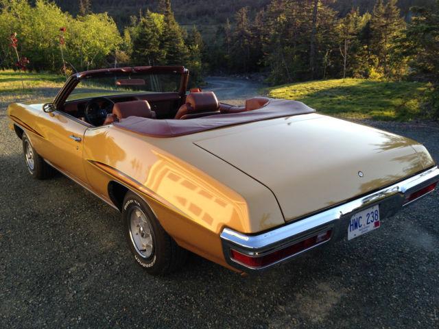 Used Tires Winnipeg >> 1971 Pontiac LeMans Sport Convertible GTO Clone for sale ...